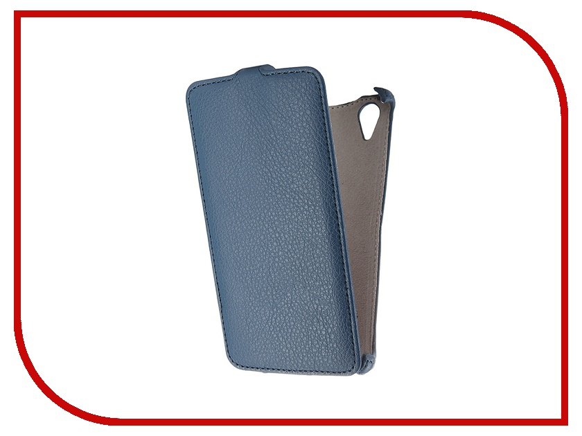 Аксессуар Чехол Fly FS502 Cirrus 1 Activ Flip Leather Blue 52685