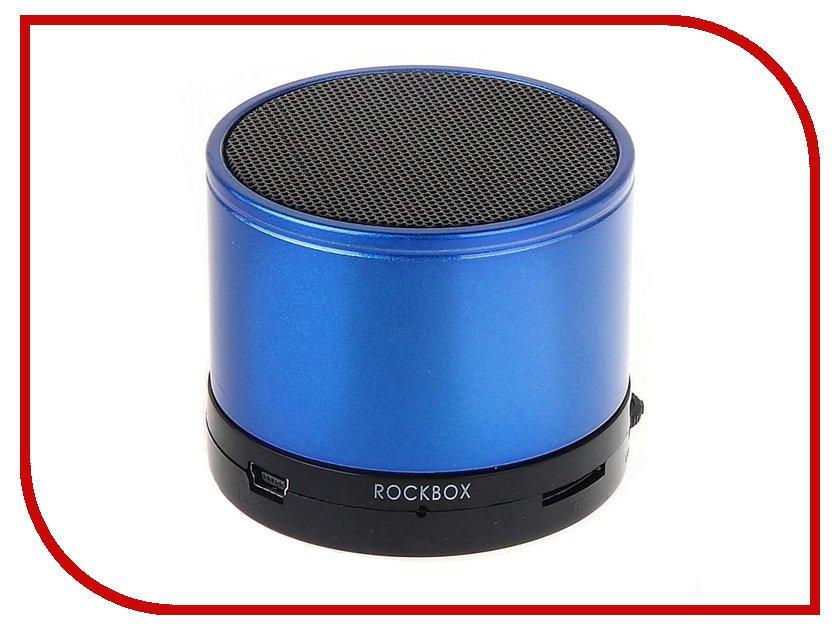 Колонка RockBox Round Glossy Blue 47249