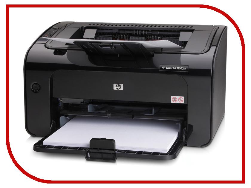 Принтер HP LaserJet Pro P1102w<br>
