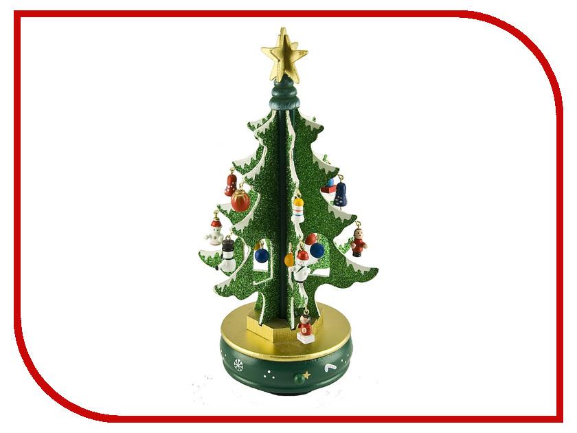 Новогодний сувенир Mister Christmas Зеленая елка с украшениями MB-52095