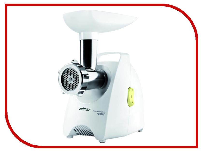 Мясорубка Zelmer 987.88 ZMM1588LRU White-Green zelmer zck0274i cke820 ivory чайник электрический