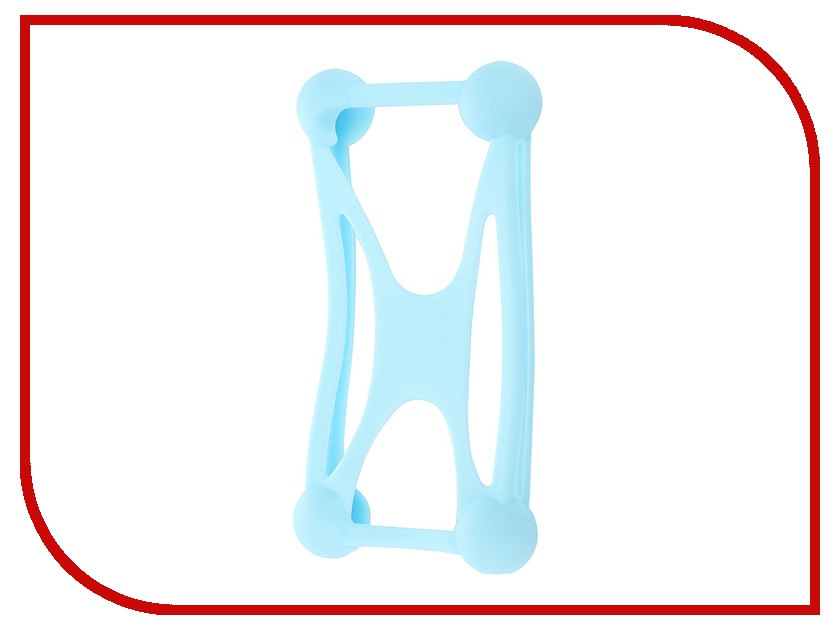 Аксессуар Partner Bumper Case 3.5-5.5-inch Light Blue ПР033423<br>