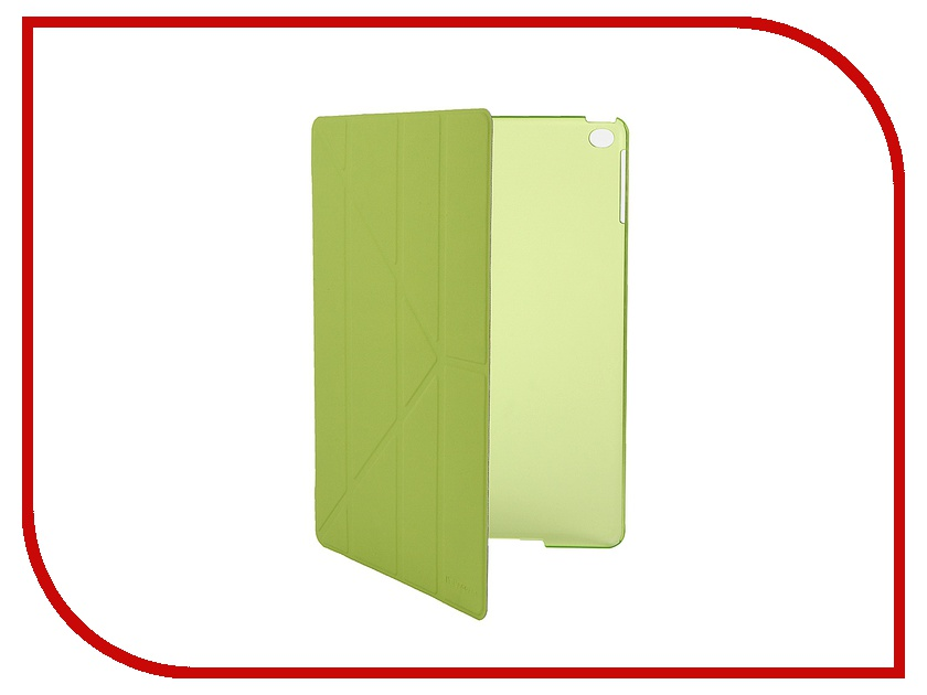 Аксессуар Чехол IT Baggage for APPLE iPad Air 2 9.7 Hard Case иск. кожа Lime ITIPAD25-5 аксессуар чехол it baggage for asus tf103c tf103cg иск кожа white itastf1032 0