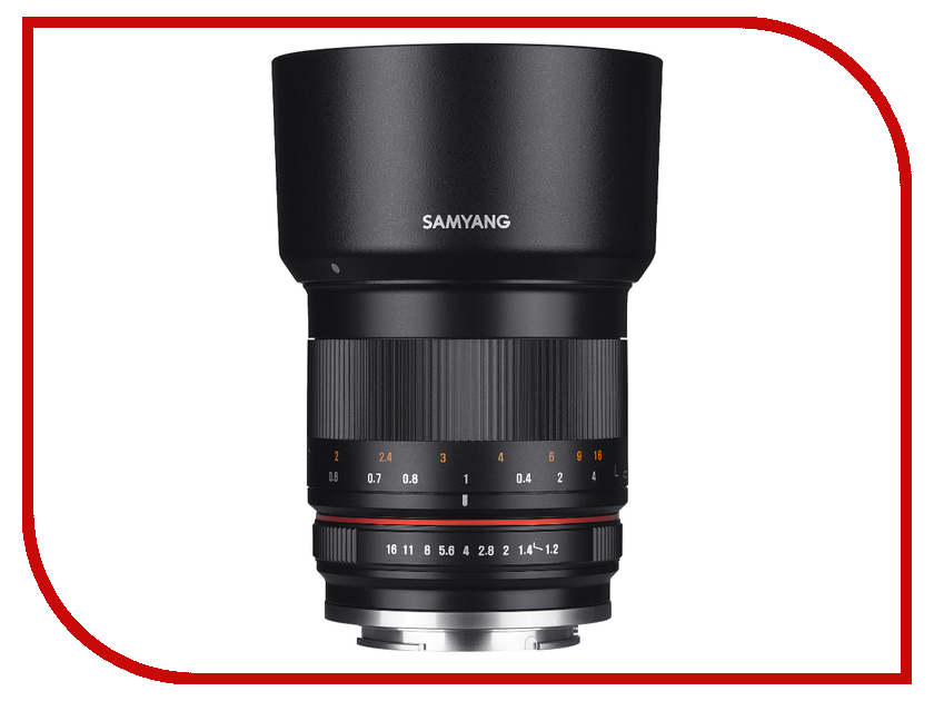 Объектив Samyang Canon M 50 mm f/1.2 AS UMC CS samyang mf8mm f 2 8 as if umc feye