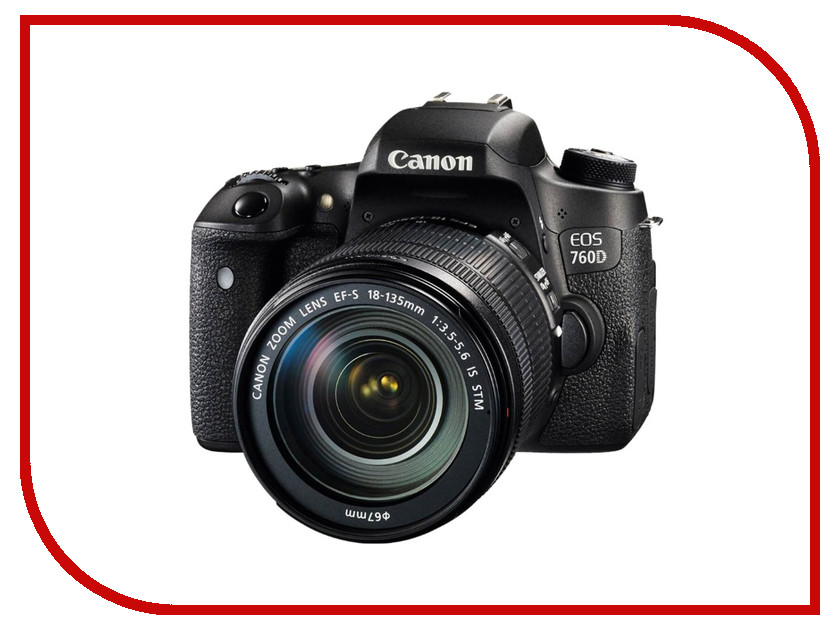 Фотоаппарат Canon EOS 760D Kit 18-135 mm STM