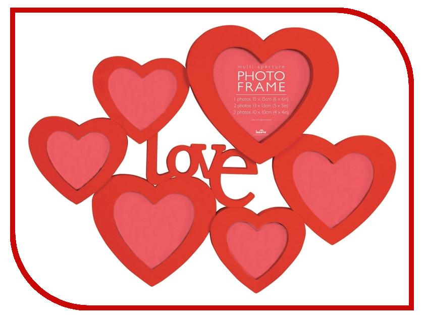 Рамка для фото Innova Maggiore XXXIII Heart Red PI06386