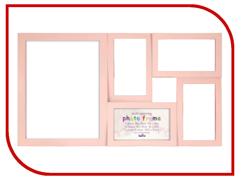 Рамка для фото Innova Maggiore XVI Baby Pink PI03772<br>