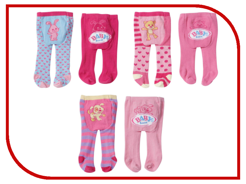 Игра Zapf Creation Baby Born Колготки 819-456<br>