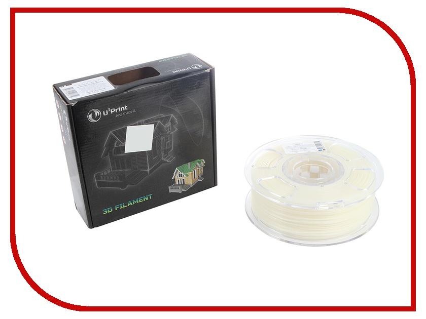 Аксессуар U3Print PLA 1.75mm 1kg Phosphor Neutral Basic Plus UPPPHBP