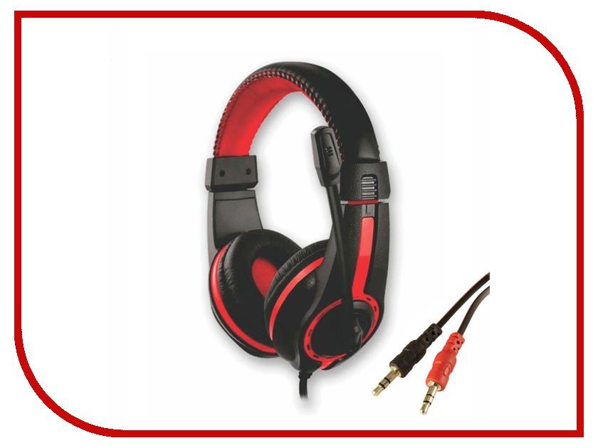 Гарнитура Havit HV-H2116d Black-Red<br>