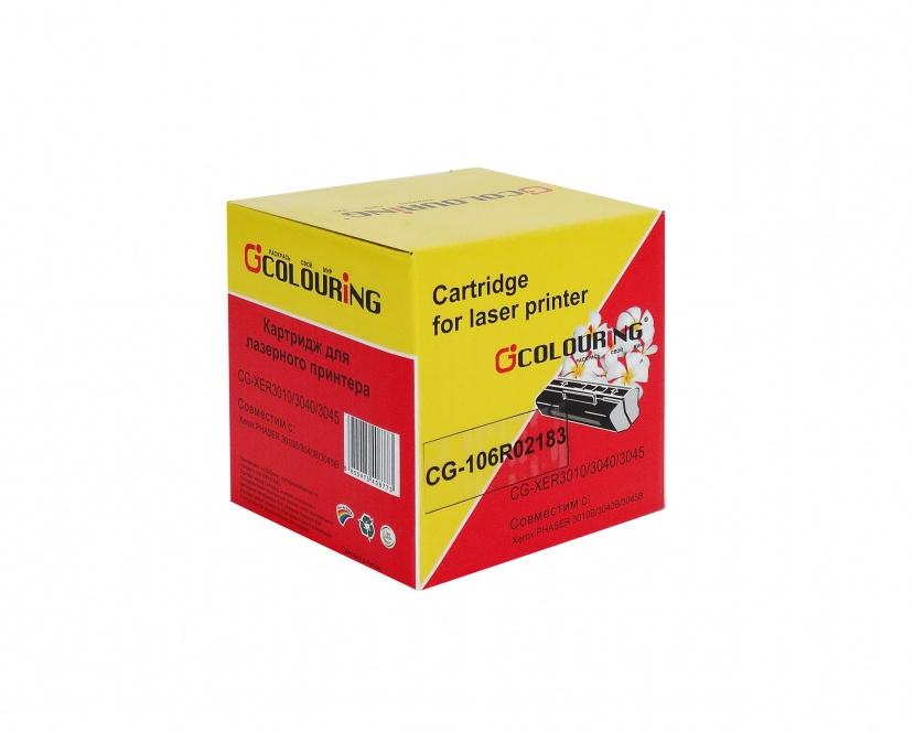 Картридж Colouring CG-106R02183 для Rank Xerox Phaser 3010/40/WC 3045 2300 копий цена