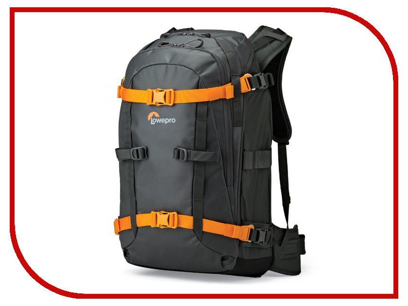 LowePro Whistler BP 350 AW Grey 83218 lowepro flipside trek bp 350 aw grey dark green