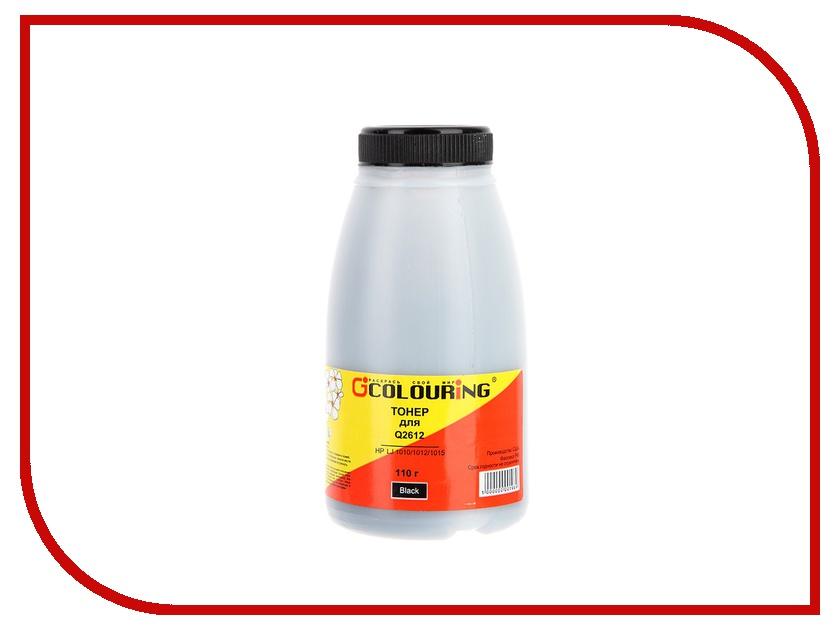 Тонер Colouring CG-Q2612 для HP LJ 1010/1012/1015 110гр