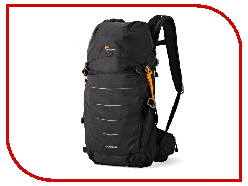 LowePro Photo Sport BP 200 AW II Black 83209 lowepro apex 140 aw