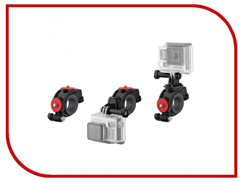 Держатель Joby Action Bike Mount Black 83424 для экшн-камер<br>