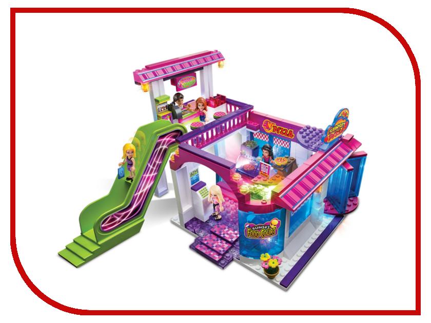 Игрушка Lite Brix Mall Ресторанный Дворик 35761<br>