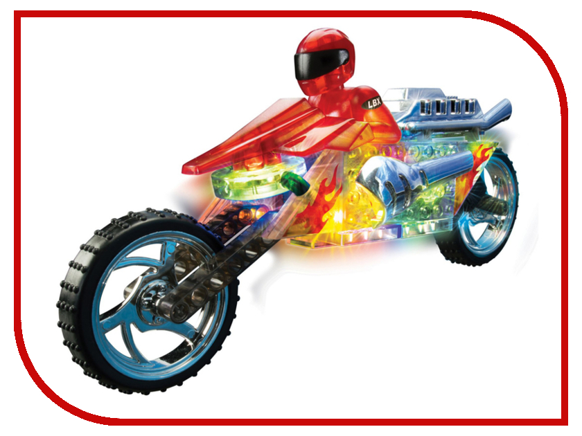 Игрушка Конструктор Lite Brix Мотоцикл 35802<br>