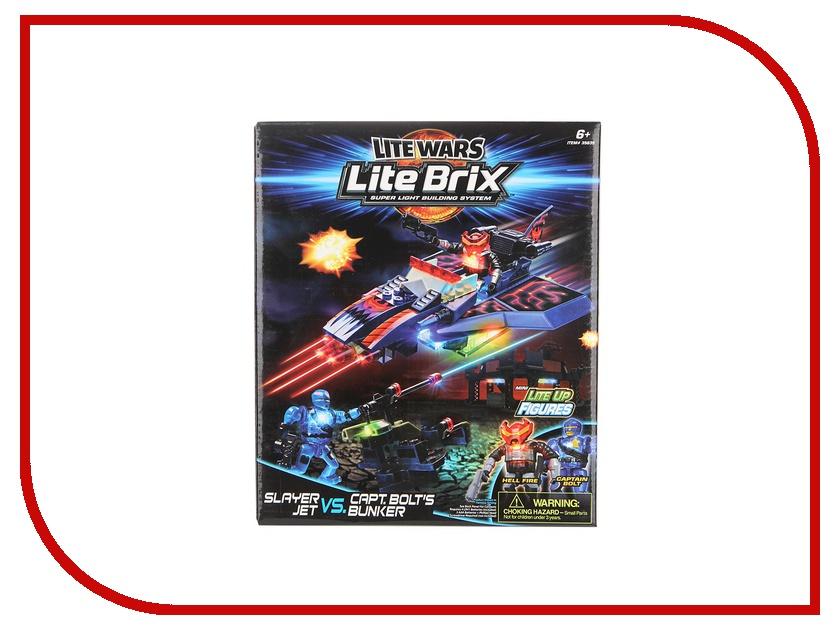 Игрушка Конструктор Lite Brix Военная битва Самолет-Убийца 35835<br>