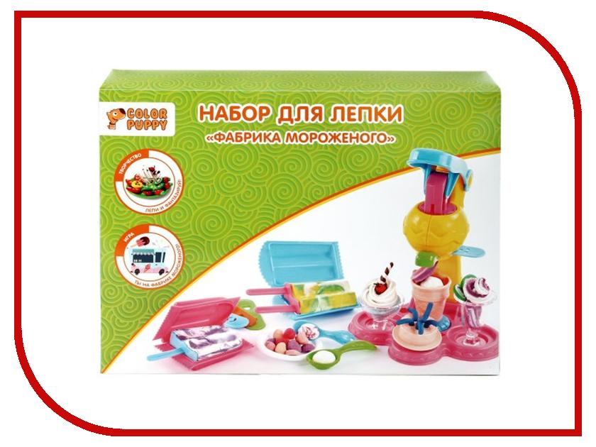 Набор для лепки Color Puppy Фабрика мороженого 250г 631025