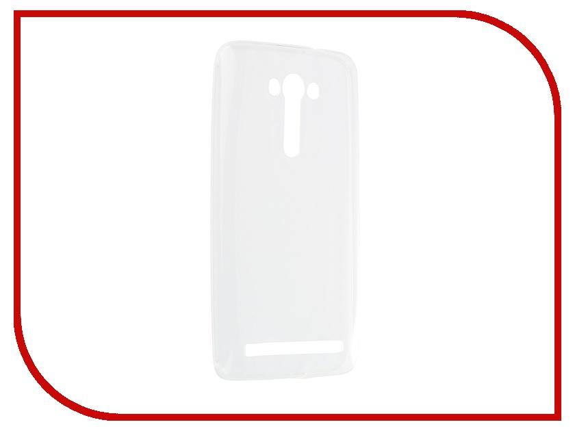 Аксессуар Чехол-накладка ASUS Zenfone 2 Laser ZE550KL Gecko White Grey S-G-ASZE550KL-WH<br>