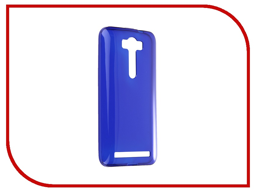 Аксессуар Чехол-накладка ASUS Zenfone 2 Lazer ZE500KL Gecko Blue S-G-ASZE500KL-DBLU<br>