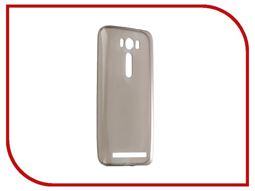 Аксессуар Чехол-накладка ASUS Zenfone 2 Lazer ZE500KL Gecko Grey S-G-ASZE500KL-GRAY ze500kl 1a435ru