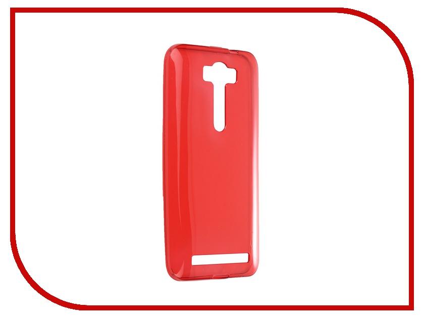 Аксессуар Чехол-накладка ASUS Zenfone 2 Lazer ZE500KL Gecko Red S-G-ASZE500KL-RED ze500kl 1a435ru