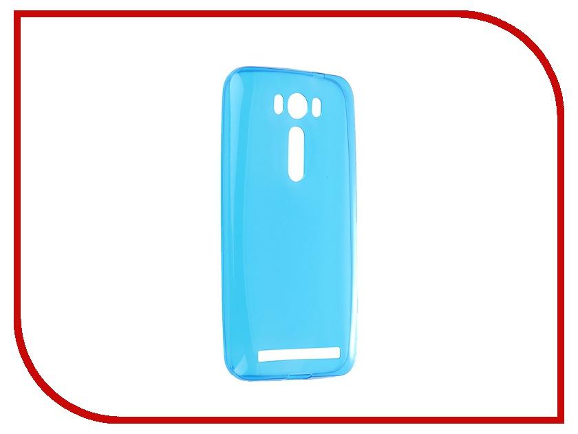 Аксессуар Чехол-накладка ASUS Zenfone 2 Lazer ZE500KL Gecko Blue S-G-ASZE500KL-BLU<br>