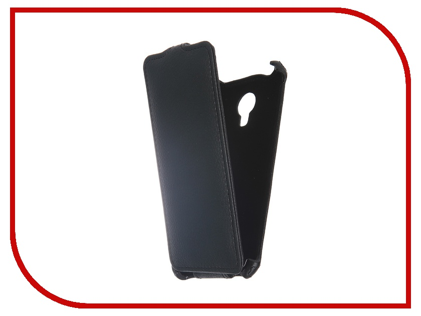 Аксессуар Чехол-флип Micromax Q380 Canvas Spark Gecko Black GG-F-MICQ380-BL micromax q380 canvas spark купить