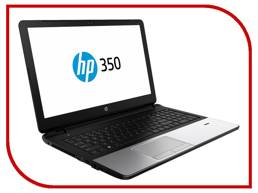 Ноутбук HP 350 G2 L8B74EA Intel Pentium 3805U 1.9 GHz/4096Mb/500Gb/DVD-RW/Intel HD Graphics/Wi-Fi/Bluetooth/Cam/15.6/1366x768/Windows 7 64-bit<br>