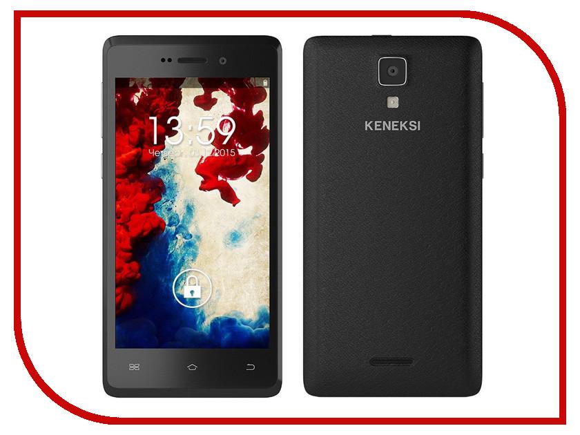 Сотовый телефон KENEKSI Flame Black<br>