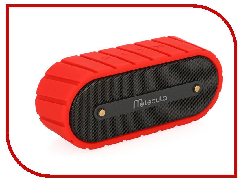 Колонка Molecula BPS-201 Bluetooth Red<br>
