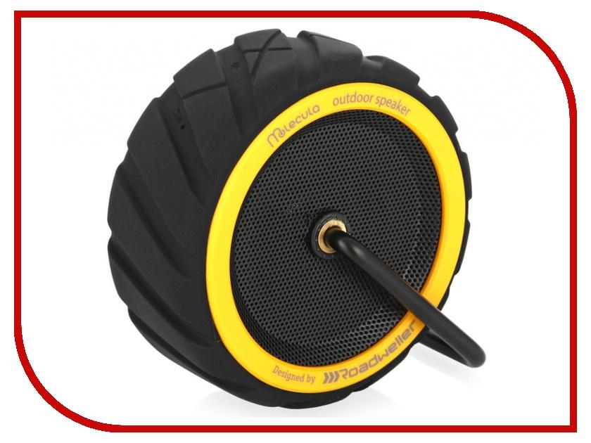 Колонка Molecula BPS-101 Bluetooth Black-Yellow