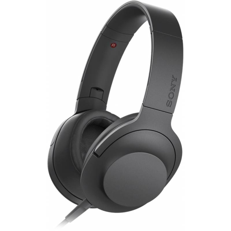 Гарнитура Sony MDR-100AAP Black<br>