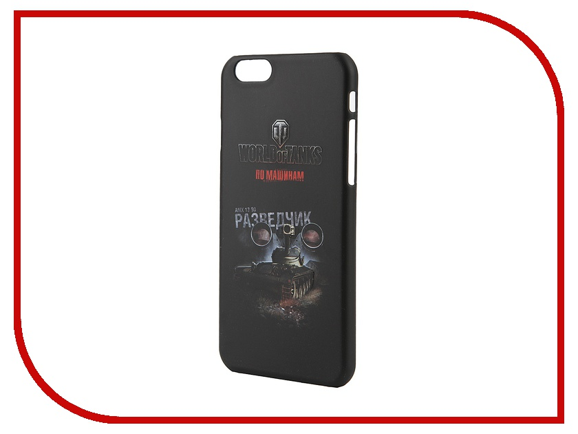 Аксессуар Чехол Deppa Art Case World of Tanks Разведчик для iPhone 6 100369 deppa deppa art case world of tanks зверобой для apple iphone 6 6s чехол бампер