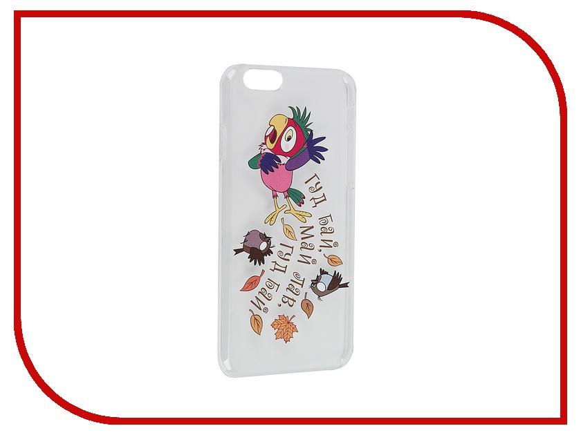 Аксессуар Чехол Deppa Art Case Союзмультфильм Кеша для iPhone 6 100575<br>