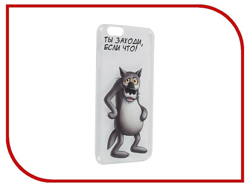 Аксессуар Чехол Deppa Art Case Союзмультфильм Волк для iPhone 6 100573<br>