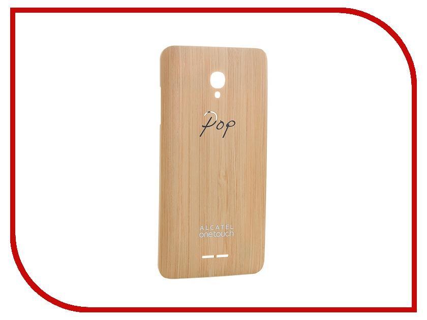 Аксессуар Крышка задняя Alcatel OneTouch WB5022 5022D POP Star Bamboo