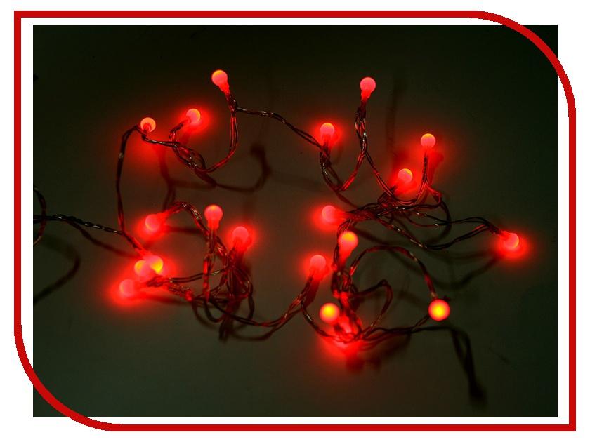Гирлянда Koopman International Цветные шарики 1.9m Red XX8710860