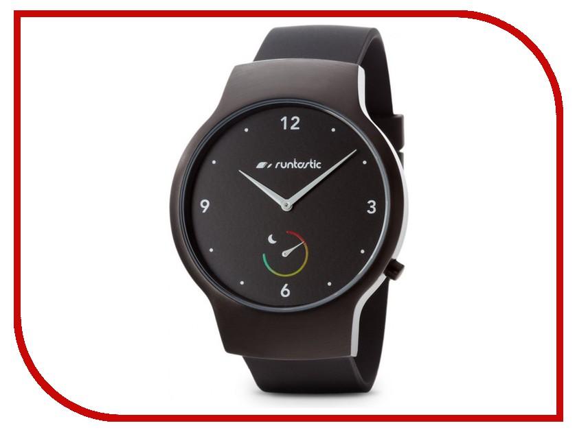 Часы наручные аналоговые Runtastic Moment Basic RUNMOBA1 Black