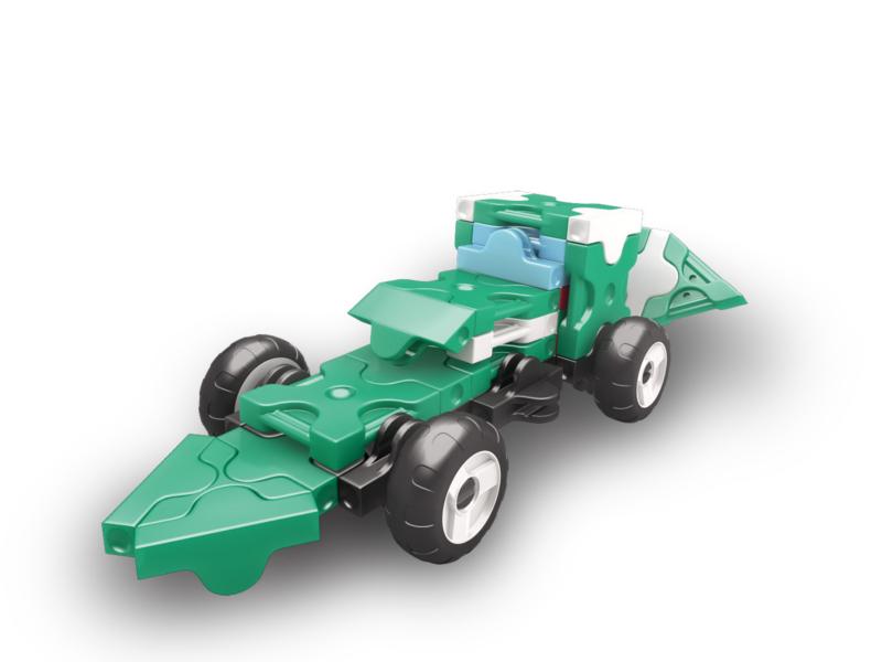 Конструктор LAQ Hamacron Mini Racer Green<br>
