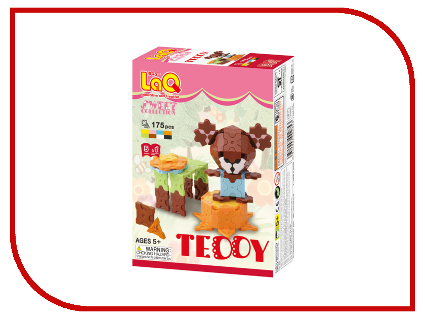 Игрушка LAQ Sweet Collection Teddy<br>