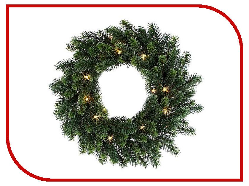 Хвойный декор Black Box Новогодний венок 35cm 20 LED 292680<br>