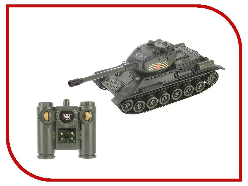 Игрушка Пламенный мотор T-34 870166 танк на радиоуправлении пламенный мотор t 34 ссср 1 28 пластик от 4 лет зелёный 870166
