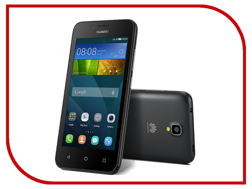 Сотовый телефон Huawei Ascend Y5 Black<br>