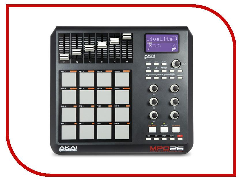 MIDI-контроллер AKAI PRO MPD26