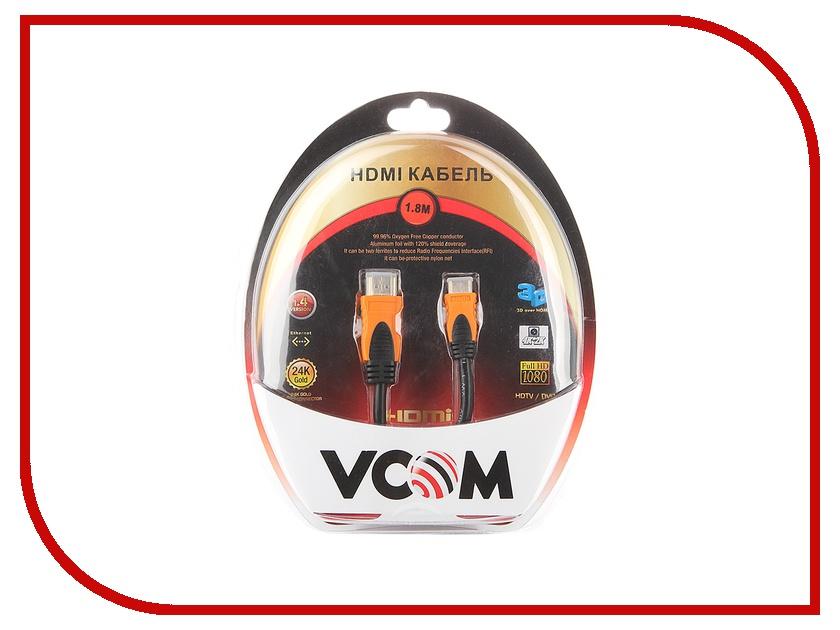 Аксессуар VCOM HDMI 19M to Mini HDMI 1.8m VHD7004OD-1.8MB<br>