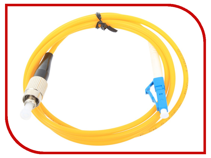Аксессуар VCOM Optical Patch Cord LC-FC UPC Simplex 1m VSU301-1M<br>