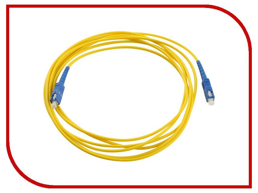 Аксессуар VCOM Optical Patch Cord SC-SC UPC Simplex 3m VSU202-3M