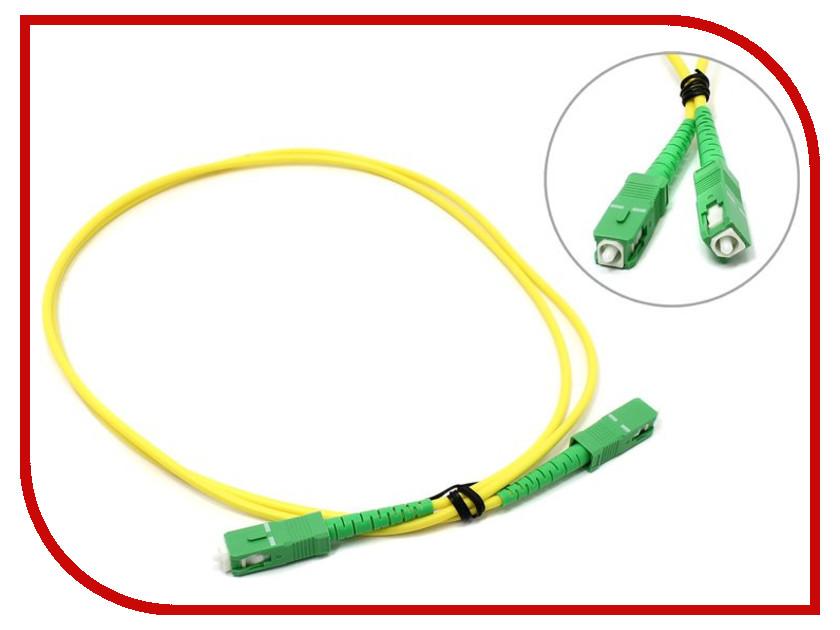 Аксессуар VCOM Optical Patch Cord SC-SC APC Simplex 1m VSA202-1M